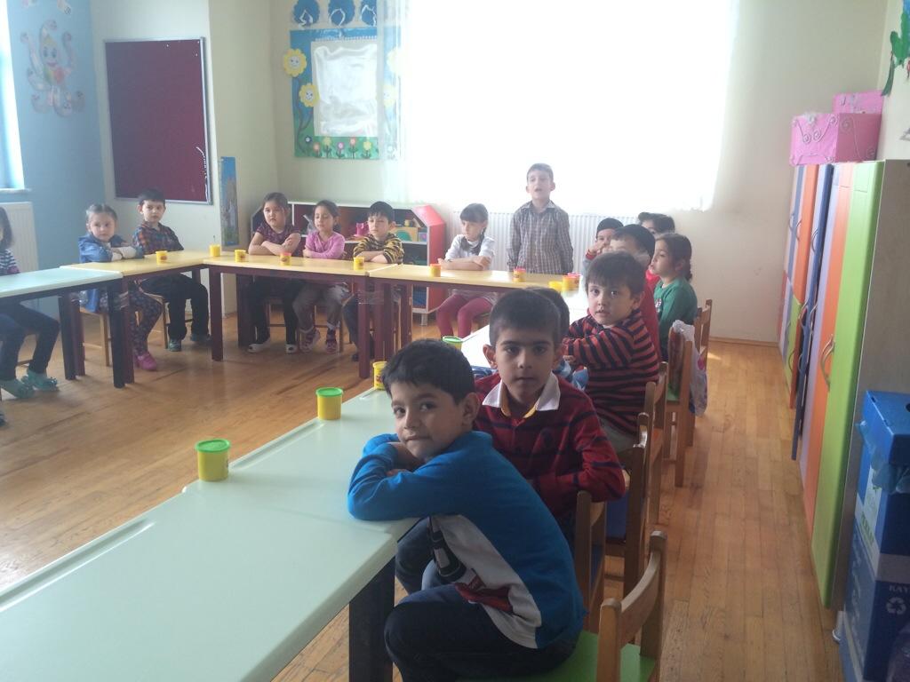 Pelajar tadika MTS Konya