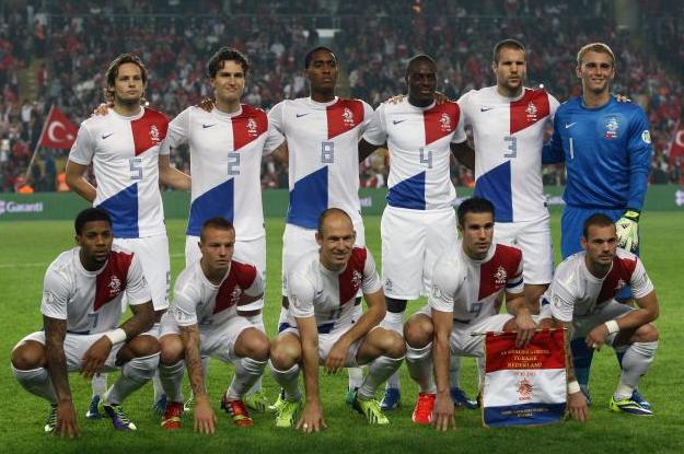 gambar pasukan piala dunia Netherlands 2014