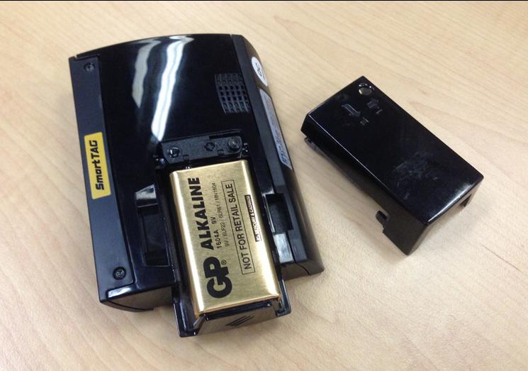 gambar bateri smartTAG baru