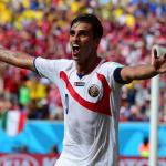Bryan Ruiz penjaring gol Costa Rica vs Italy