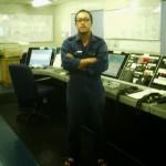 Hasni Hardi Parlan seorang jurutera kapal