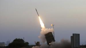 gambar Roket Israel yang menyerang Gaza