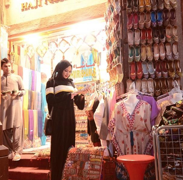 gambar neelofa berhijab