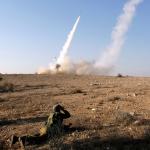 Gambar Israel menyerang Gaza