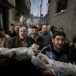 gambar anak-anak Gaza menjadi mangsa Israel