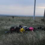 bagasi dari MH17 yang bertebaran