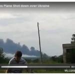 gambar tempat MH17 jatuh ditembak