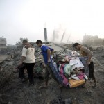gambar gaza musnah diserang Israel