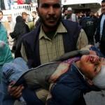 kanak-kanak gaza menjadi mangsa keganasan Israel