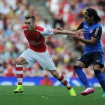 Arsenal vs Monaco perlawanan piala emirates 2014
