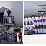 dua jenazah MH17 pertama diturunkan