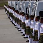 kenderaan pembawa jenazah MH17