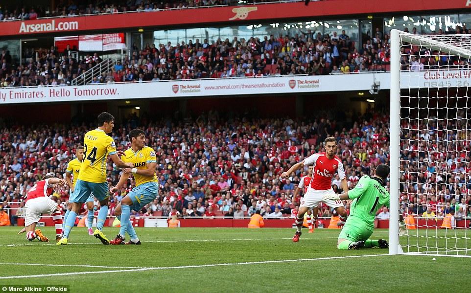gambar jaringan Ramsey menewaskan Crystal Palace