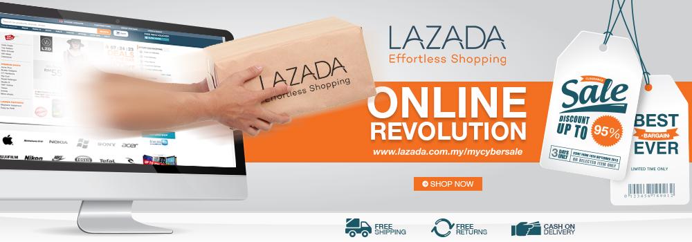 Promosi Lazada Online