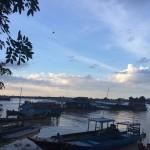 kampung air di tasik tonle sap kemboja