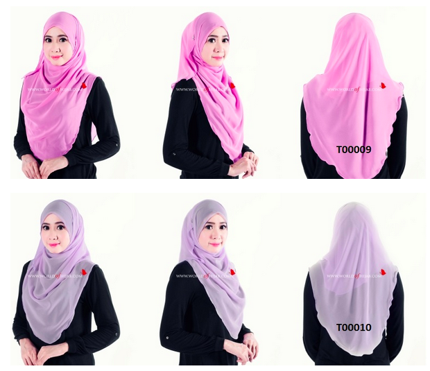 tudung oleh world of hijab