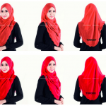 tudung merah world of hijab
