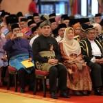 gambar majlis angkat sumpah Azmin Ali sebagai MB Selangor