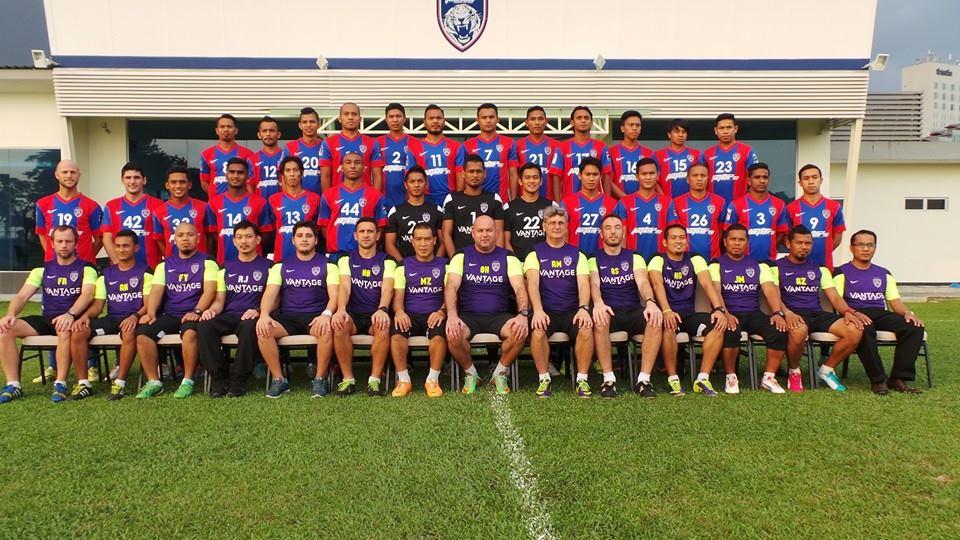 gambar pasukan JDT final piala malaysia 2014