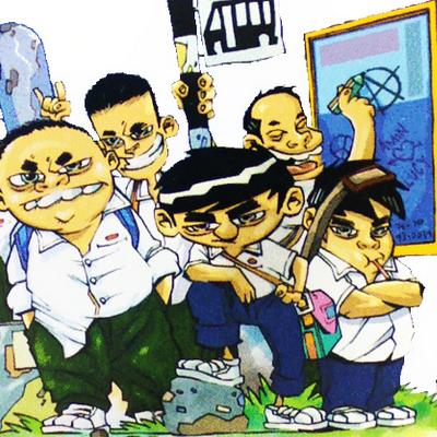 gaya gangster buli pelajar