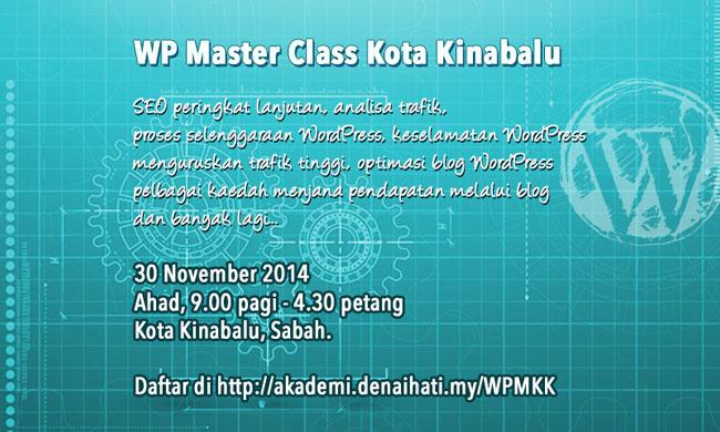WordPress Master Class Kota Kinabalu