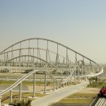 gambar Formula Rossa Roller Coaster Abu Dhabi