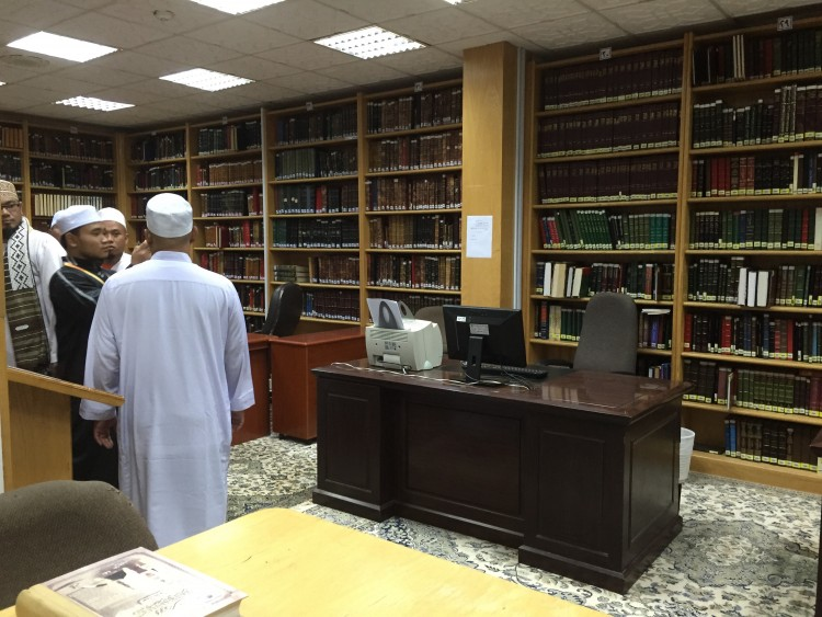 gedung buku Masjid Nabawi