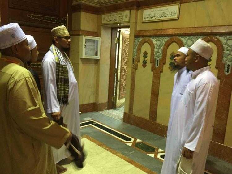 bilik al quran masjid nabawi