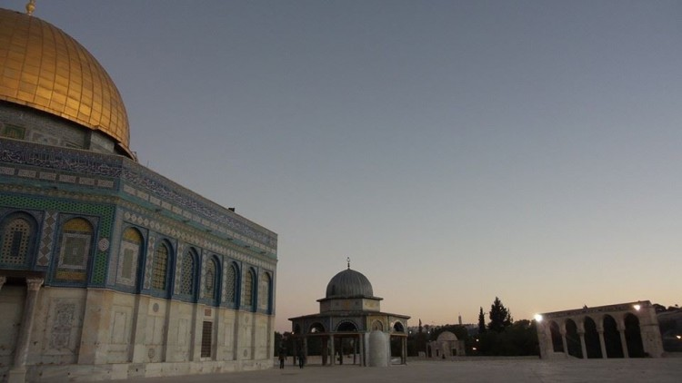 gambar cantik dome of the rock