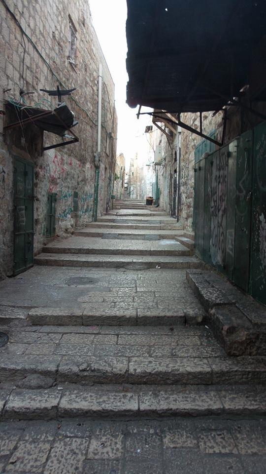 lorong kota lama baitulmuqaddis