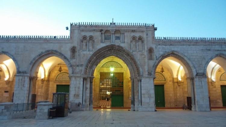 Masjid Al Aqsa dari depan