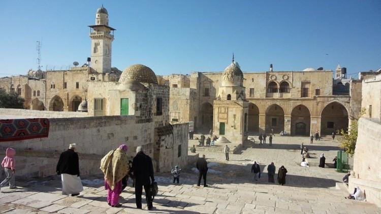 Tembok barat Masjid Al Aqsa