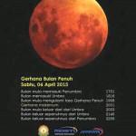 gerhana bulan 2015