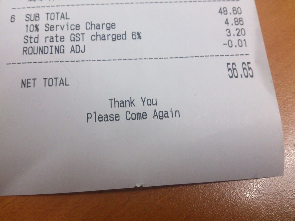 gst restoran