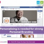personalizing for personal brand