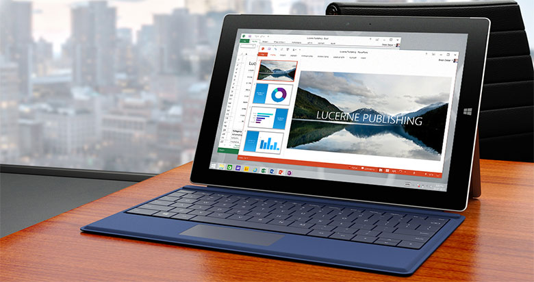 surface 3 tablet computer