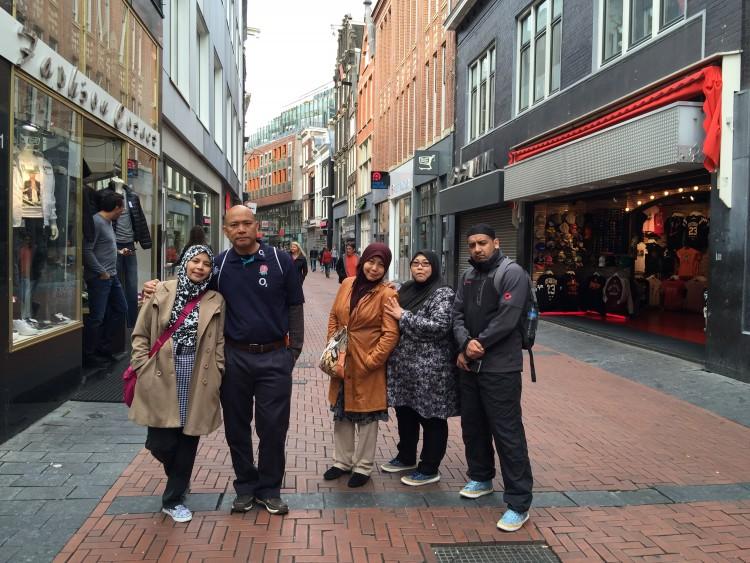 kawasan shopping Amsterdam