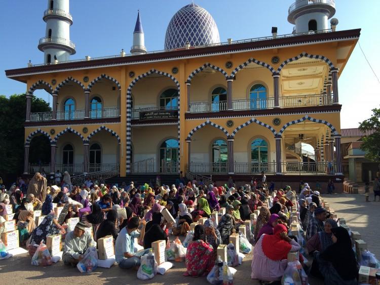 zakat Kemboja Masjid Nurul Naim