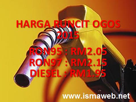 harga-minyak-ogos-2015