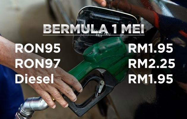 harga-petrol-diesel-mei-2015