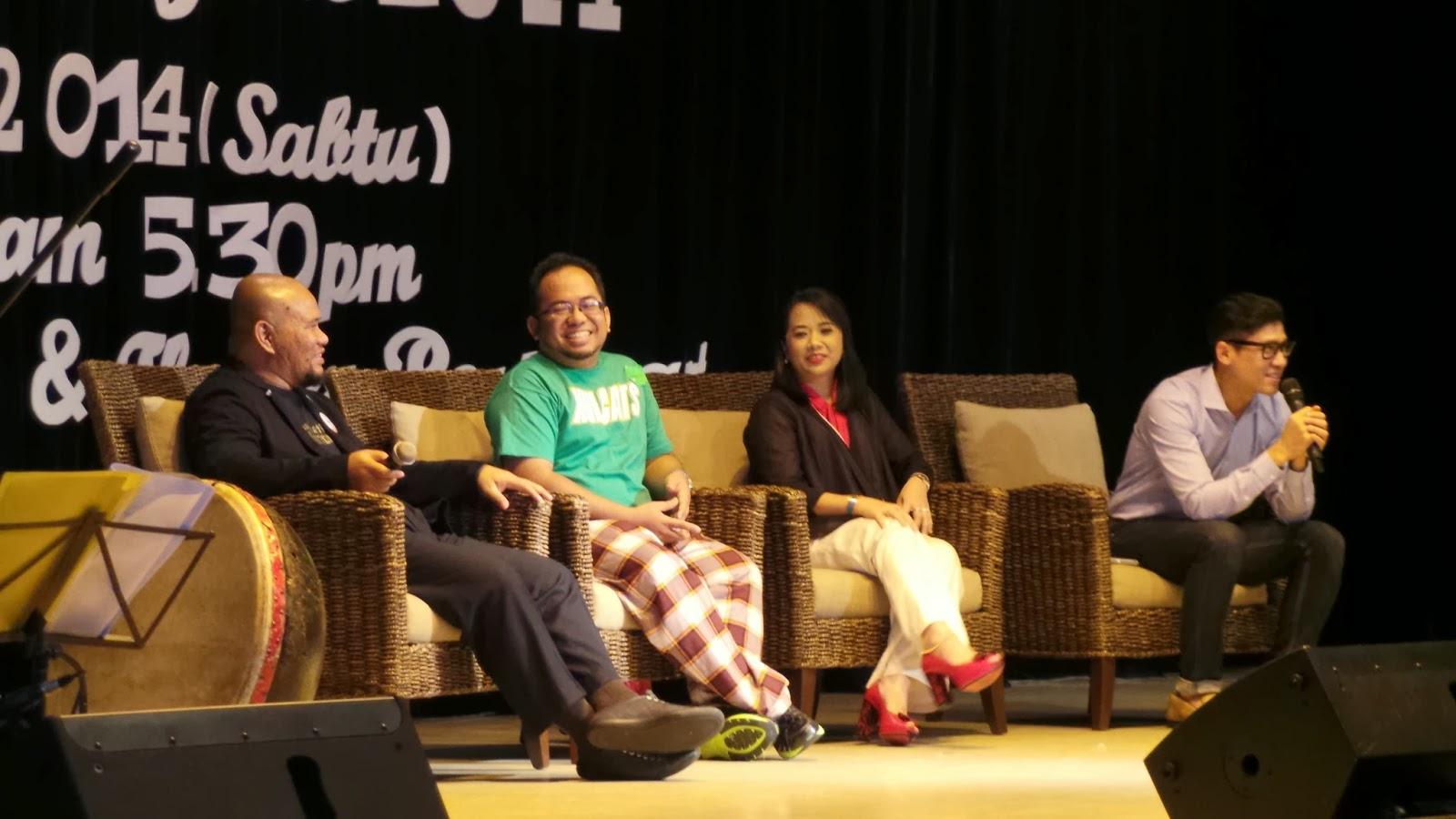 Sahabat Zarul Umbrella dalam satu event blogger