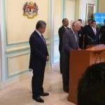 Perdana Menteri DS Najib mengumuman senarai baru kabinet 2015