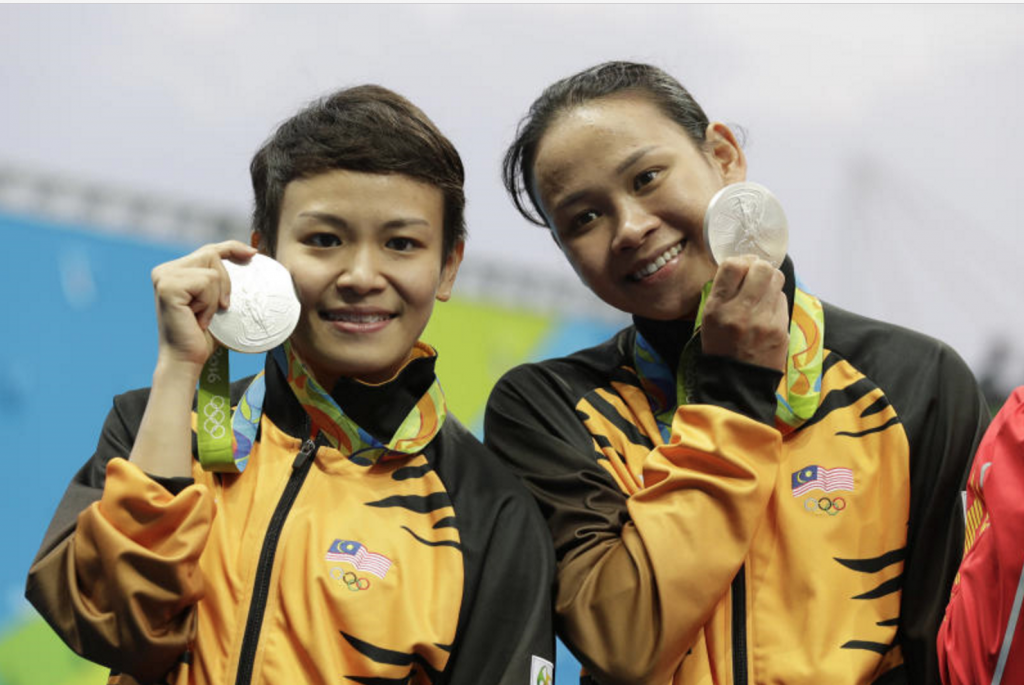 Pandelela dan Jun Hong