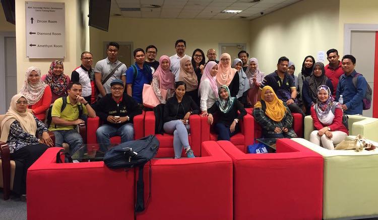 para peserta selepas kelas eUsahawan