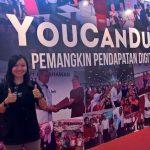 Adeline peserta eRezeki dari Sabah