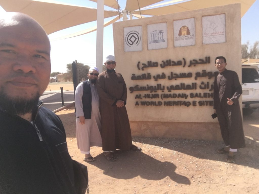 Kompleks sejarah Madain Saleh Madinah