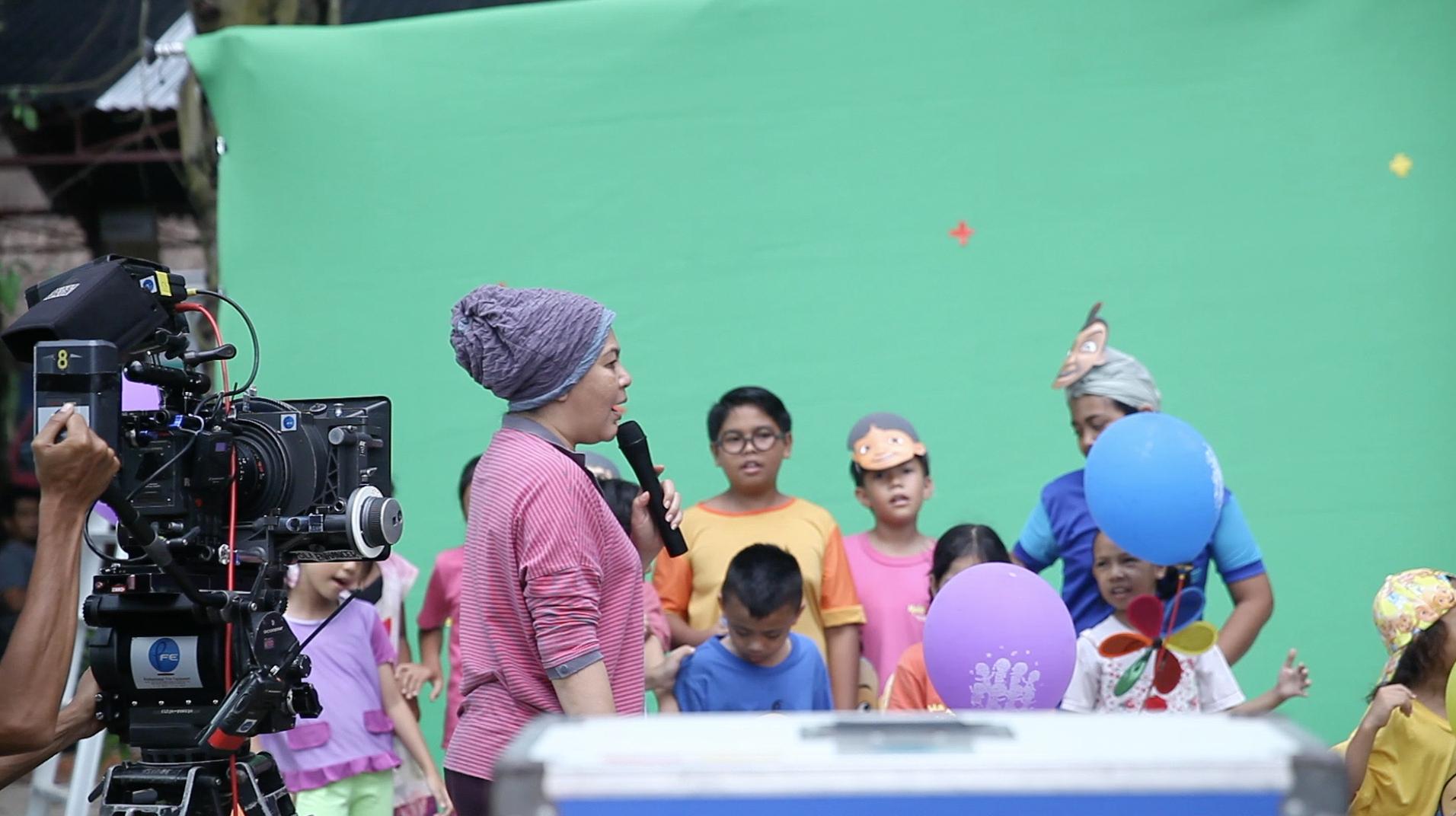 Hajah Ainon dan Erma Fatima menjadi Pengarah bagi filem Upin Ipin Jeng Jeng Jeng