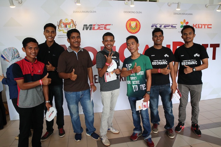 sebahagian dariapda pengunjung #YouCanDuit Kedah di Dewan Seri Mentaloon