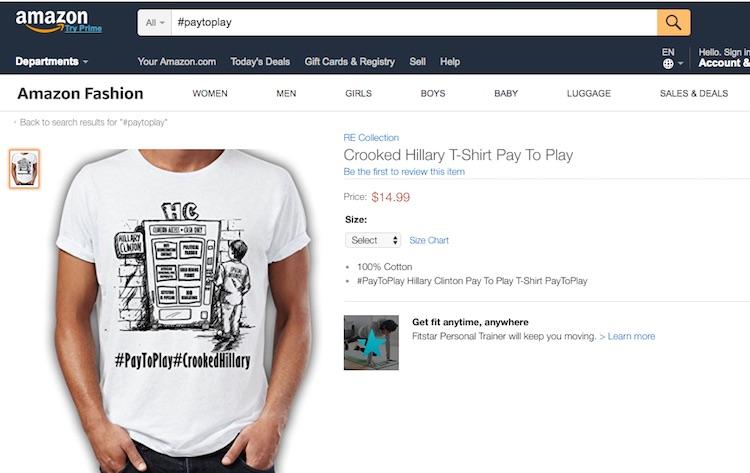Contoh design tshirt kempen Donald Trump