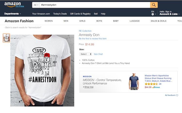 Contoh design tshirt Donald Trump